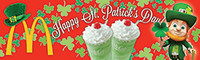 Custom St. Patrick's Day 3'x10' Banner 1