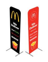 2' x 6' McDonald's Custom Eurofit Kit