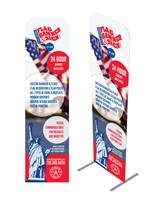 2' x 7.5' Custom Eurofit Banner Kit