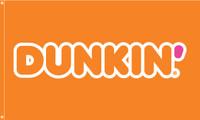Dunkin' Flag Orange