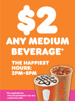 "Dunkin' 3'x4' ""Happiest Hours"" Poster"