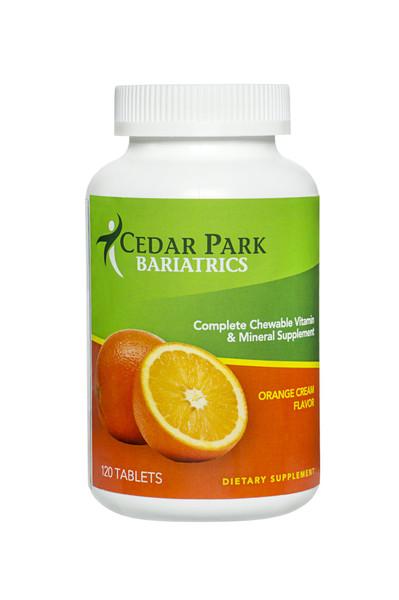 Orange Cream Chewable Multivitamin