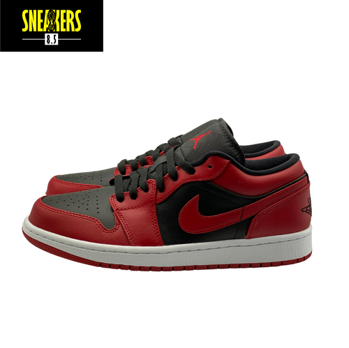 Air Jordan 1 Low 'Reverse Bred' - 553558-606