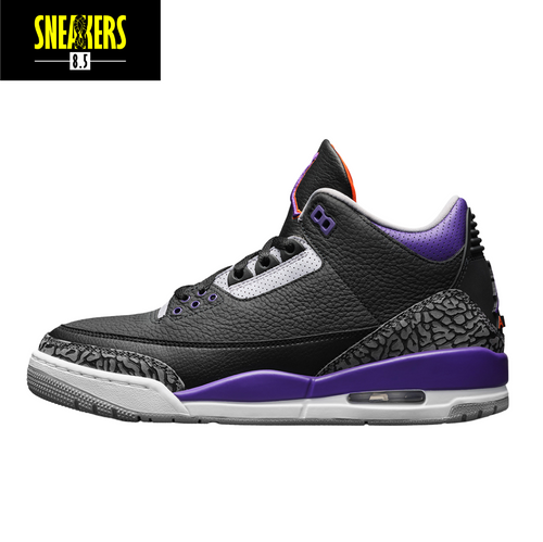 Air Jordan 3 Retro 'Court Purple' - CT8532 050
