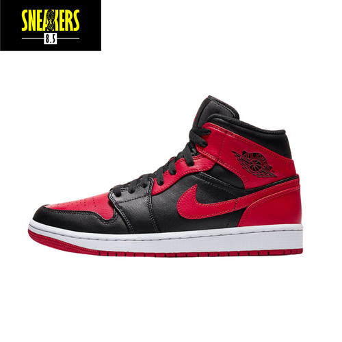 Air Jordan 1 Mid 'Banned' -  554724 074