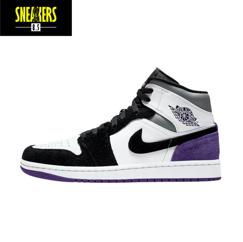 Air Jordan 1 Mid SE 'Varsity Purple' - 852542 105