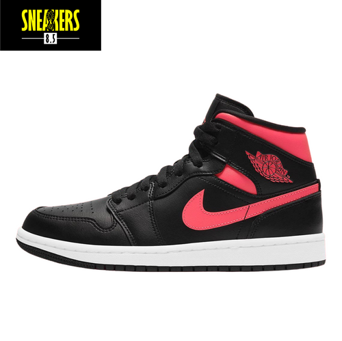 Wmns Air Jordan 1 Mid 'Siren Red' - BQ6472 004