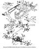 Parts lookup Husqvarna Lgt2654 Drive Belt 532130969 diagram
