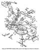 """Parts lookup Husqvarna YTA22V46 Deck Belt (42"""") 532197253 diagram"""
