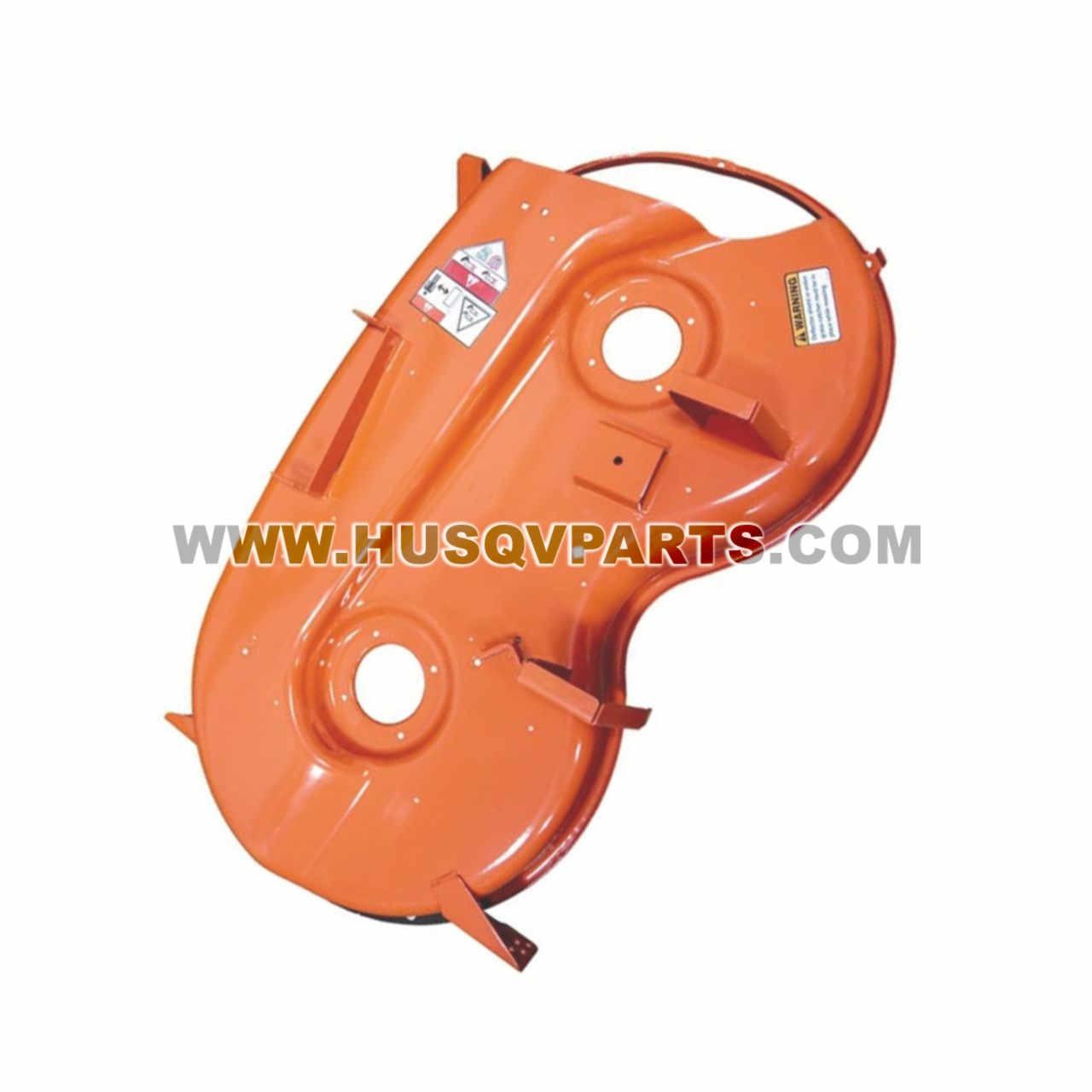 "HUSQVARNA Deck W/Decals 46"" Orange 579589201 Image 1"