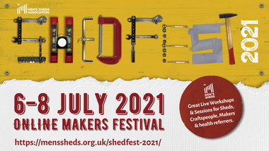Join us at ShedFest 2021