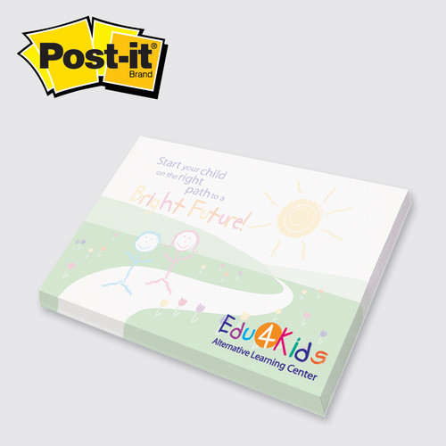 Post-it® Custom Printed Notes Full Color 25 - 3 x 4