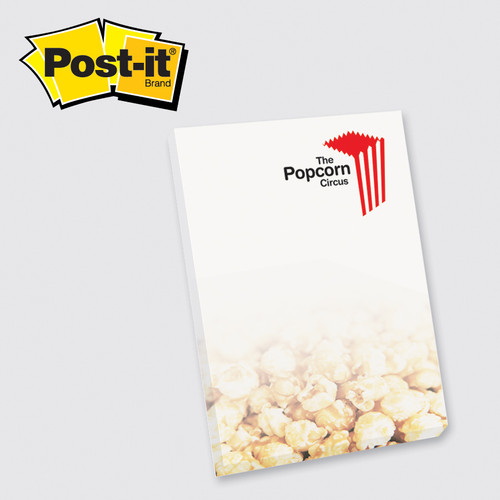 Post-it® Custom Printed Notes Full Color Program — 4 x 6 - 25