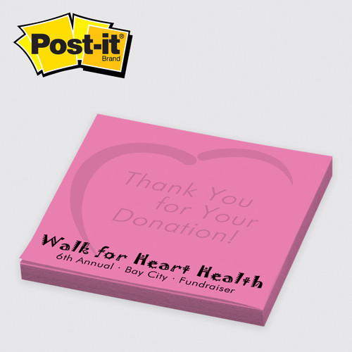 Post-it® Custom Printed Notes 3x3 - 25