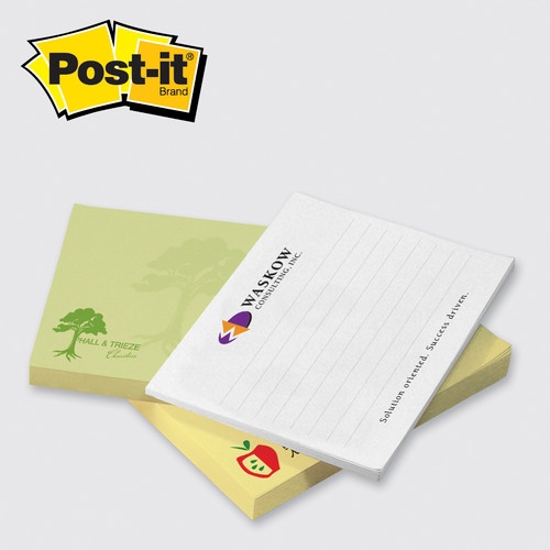 Post-it® Custom Printed Notes 3x4 - 50