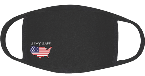 Stay Safe America 3-Ply Protective Cotton Mask