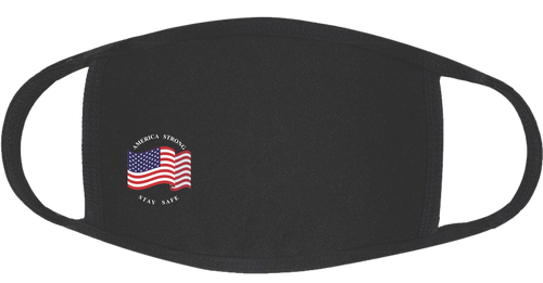 America Strong 3-Ply Protective Cotton Mask