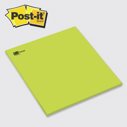 "Post-it® Custom Printed Big Pads — 11-3/4"" x 11-3/4"""