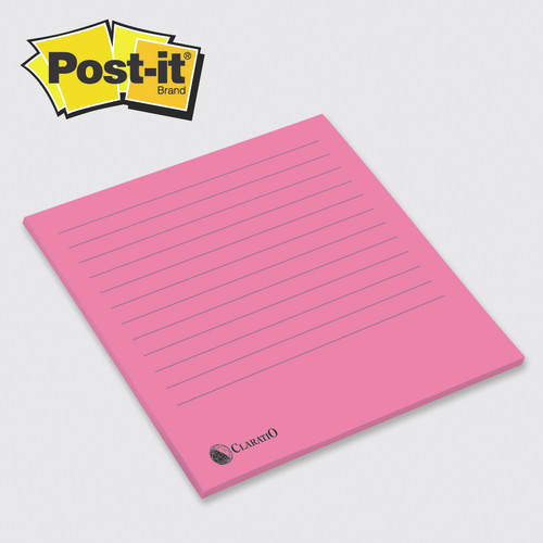"Post-it® Custom Printed Big Pads — 15-3/4"" x 15-3/4"""