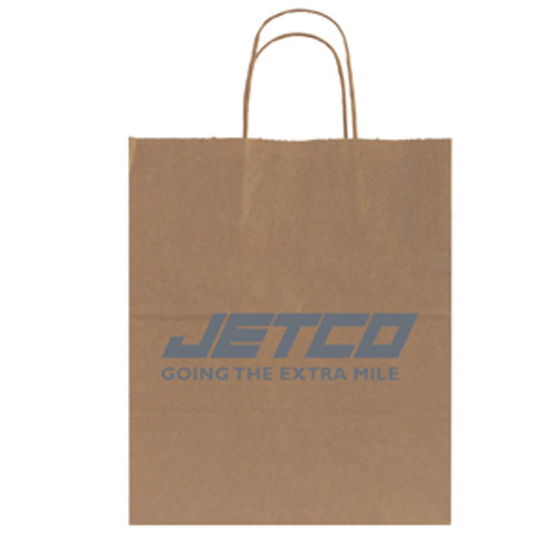 Natural Kraft Shopping Bag - 10 x 12.5