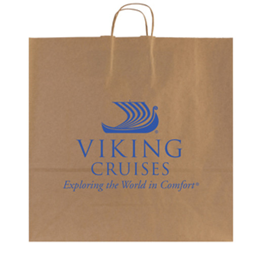 Natural Kraft Shopping Bag - 18 x 18