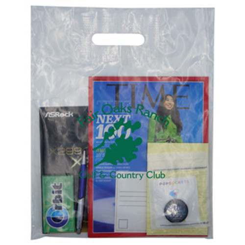 Clear Patch Handle Bag 2.5 Mil. - 12 x 15
