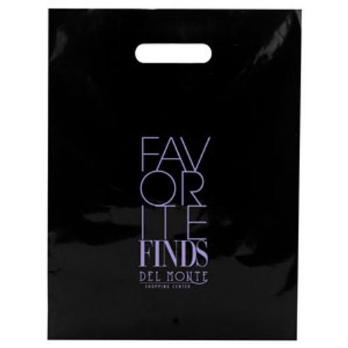 Color Patch Handle Bag 2.5 Mil. - 12 x 15