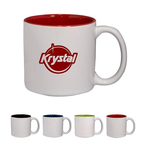 14 oz. Glossy Jamocha Ceramic Mug