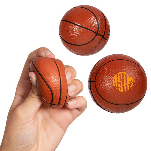Basketball Super Squish Stress Reliever