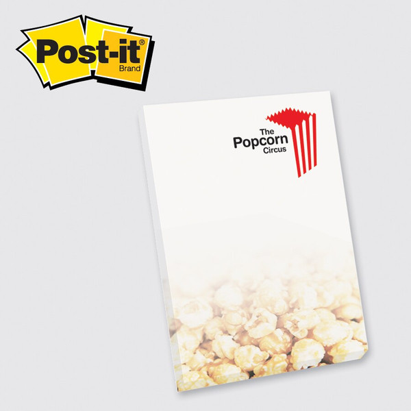 Post-it® Custom Printed Notes Full Color Program — 4 x 6 - 50