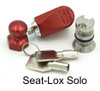 For use with dual attachment point seats