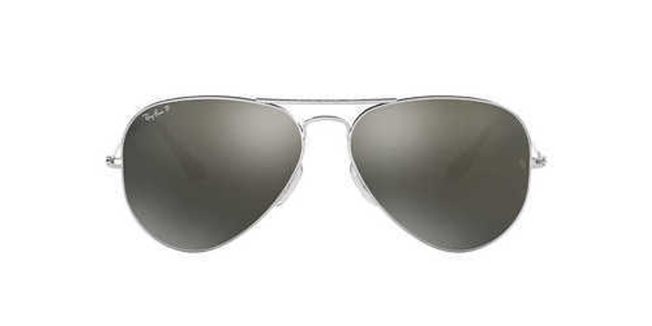 bdc5bdfc269 Ray-Ban Aviator Sunglasses In Silver Mirror - CHROME