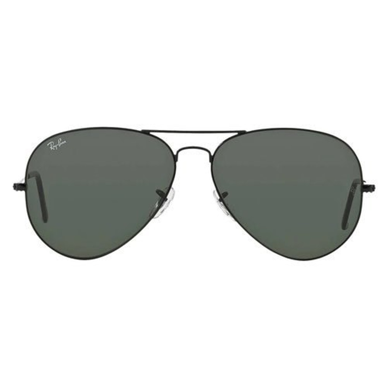 778a71499656 Ray-Ban Aviator Sunglasses In Non-Polarized Green Classic G-15 - CHROME