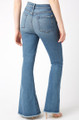 7 For All Mankind Exaggerated Kick Jeans In Muse