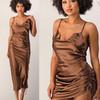 Chocolate City Slip Dress