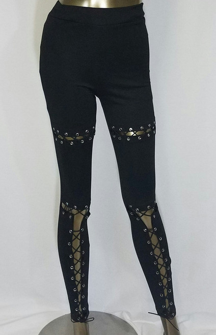 Front Tie Detail Leggings