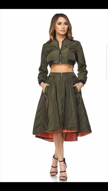Top Gun Skirt Set