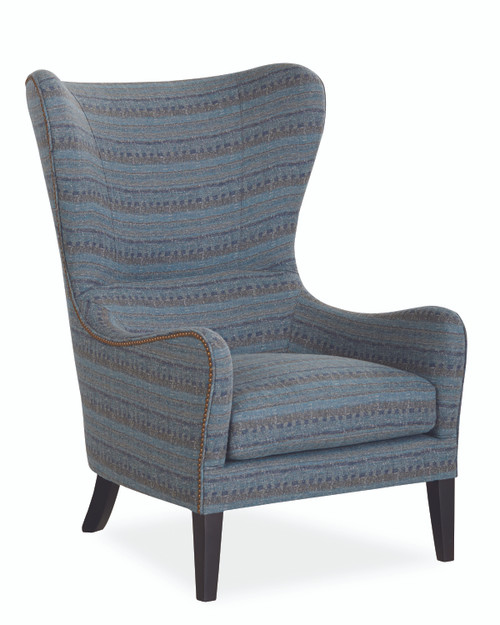 Wing Back Chair by Lee Industries at Artful Lodger in Charlottesville, VA