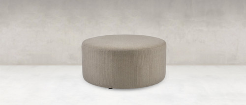 Poppy Round Ottoman by Younger Furniture at Artful Lodger in Charlottesville, VA
