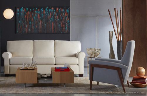 Quinton Re-Invented Recliner by American Leather at Artful Lodger in Charlottesville, VA