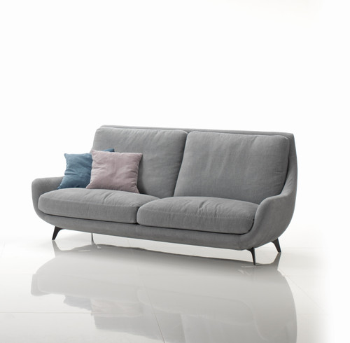 "Conchiglia 81.5"" Sofa by Gorini Divani at the Artful Lodger in Charlottesville, VA"