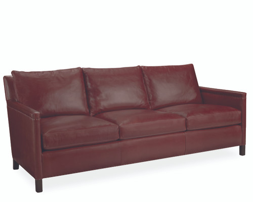 Lawrence Leather L1935-03 Sofa by Lee Industries at Artful Lodger in Charlottesville, VA