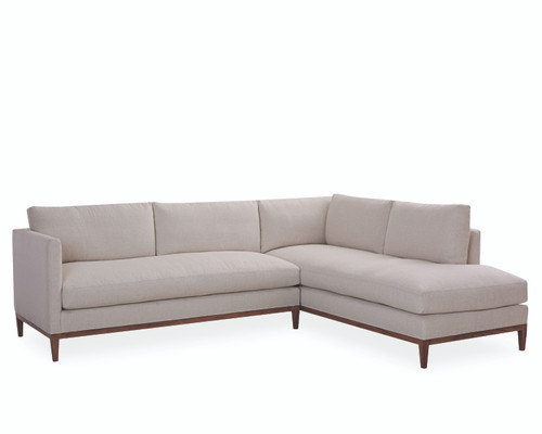 Bella 3583-Series Sectional by Lee Industries at Artful Lodger in Charlottesville, VA