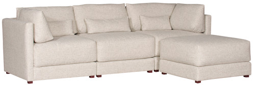 Dove Sectional V110 by Vanguard Furniture at Artful Lodger in Charlottesville, VA