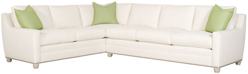 Fairgrove Sectional 652 by Vanguard Furniture at Artful Lodger in Charlottesville, VA