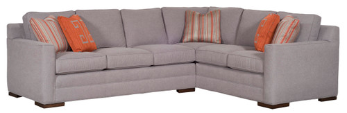 Summerton Sectional 610 by Vanguard Furniture at Artful Lodger in Charlottesville, VA