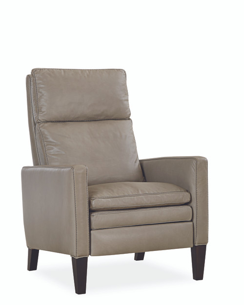 Lawrence L1274-01R Leather Recliner Chair by Lee Industries at Artful Lodger in Charlottesville, VA