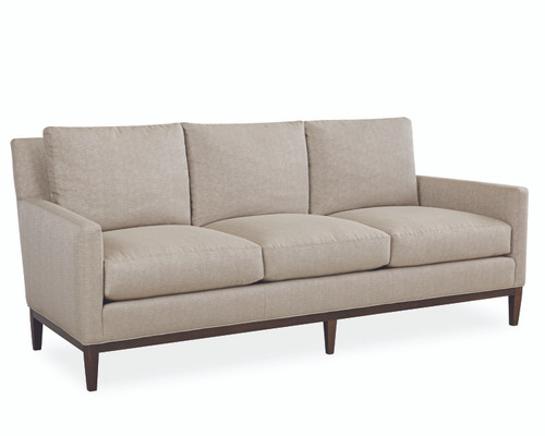 Carter L1399-03 Leather Sofa by Lee Industries at Artful Lodger in Charlottesville, VA