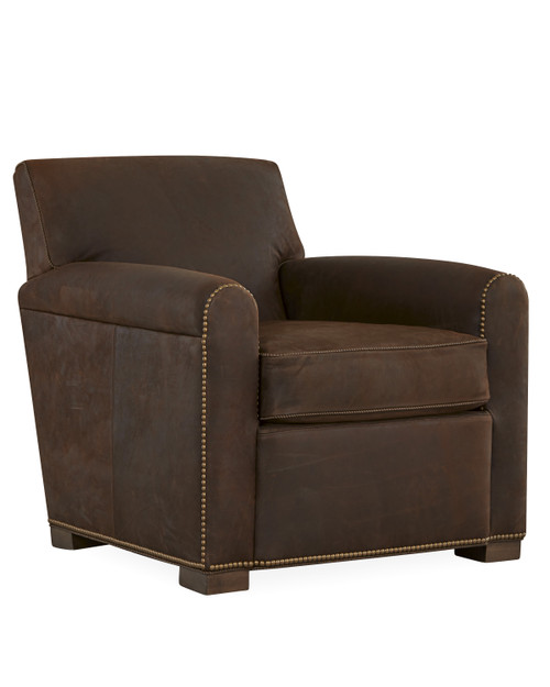 Glenn L4919-01 Leather Chair by Lee Industries at Artful Lodger in Charlottesville, VA