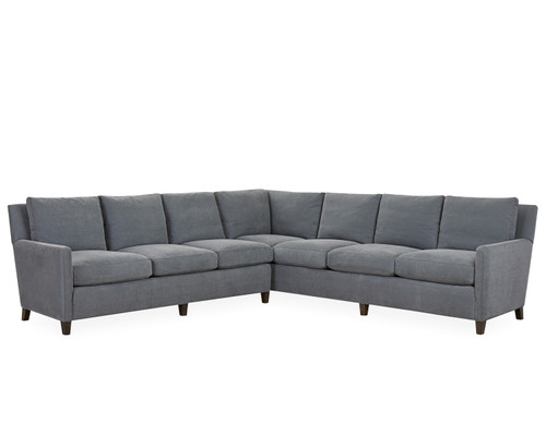 Lukas Sectional 1296-Series by Lee Industries at Artful Lodger in Charlottesville, VA